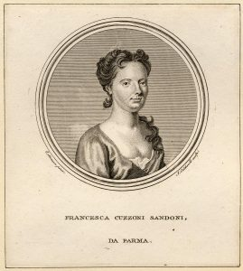 Francesca Cuzzoni, one of the stars of the Opera of the Nobility